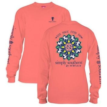 "Youth Simply Southern Long Sleeve Tee - "" Magic"""