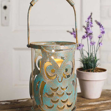 Owl Candle Holder - *FREE SHIPPING*