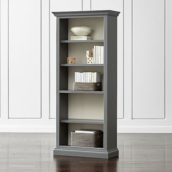 Cameo Grey Open Bookcase