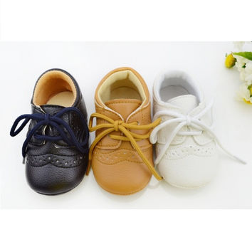 English Classics Infant-Baby Leather Shoes