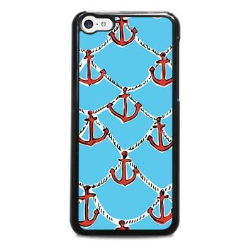 lilly pulitzer anchor iphone 5c case cover  number 1