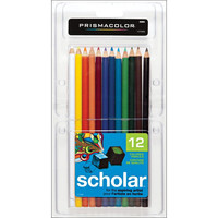 Prismacolor Scholar Colored Pencils Pack of 12