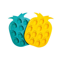 SUNNYLIFE - Pineapple Ice Tray / Turquoise & Yellow