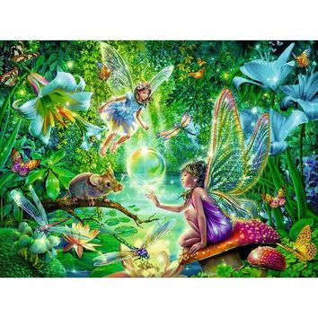 Ravensburger Fairy Magic Frame Jigsaw Puzzle - Puzzle Haven