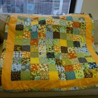 Modern BohemianBaby Patchwork Baby or Toddler Quilt - Made to Order