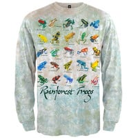 Rainforest Frogs - Long Sleeve T-Shirt