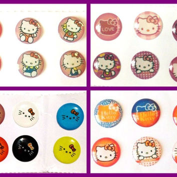24x Cute Kitty Bubble Home Button Stickers for iPhone iPad 1 2 3 4 iPad Air Mini iPod Touch Nano iPhone6 iPhone5 iPhone4