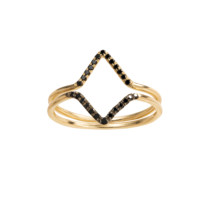 MICROPAVE DOUBLE TRIANGLE STACK