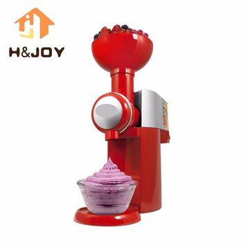 Automatic Frozen Fruit Dessert Machine DIY Fruit Ice Cream Maker Milkshake Machine-K1