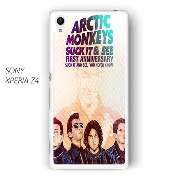 Arctic Monkey Suck it and See for Sony Xperia Z1/Z2/Z3 phone case