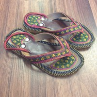 Girls Chappal - Multi Color