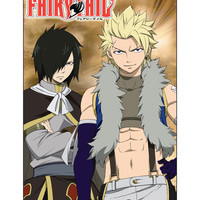 Fairy Tail Twin Dragons Of Sabertooth Poster