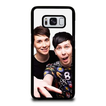 DAN AND PHIL Samsung Galaxy S3 S4 S5 S6 S7 Edge S8 Plus, Note 3 4 5 8 Case Cover