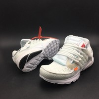Off-White x Nike Presto White Running Shoes - Best Deal Online