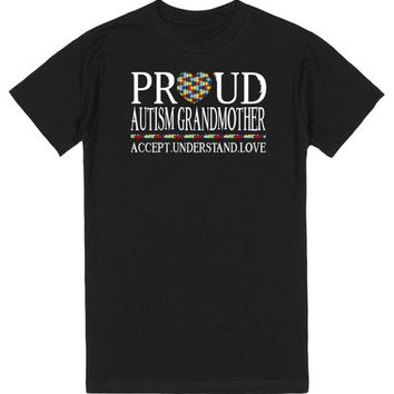 Proud Autism Grandmother Autism Awareness
