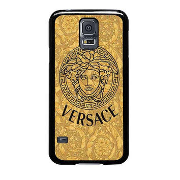 versace gold logo triforce samsung galaxy s5 s3 s4 s6 edge cases