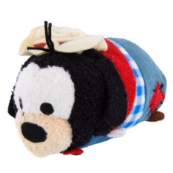 Disney Parks Frontierland Goofy Mini Tsum Plush New with Tags