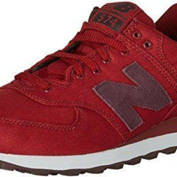 new balance men s 574 canvas waxed pack fashionsneakers