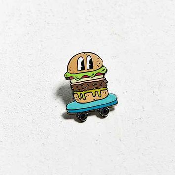 Valley Cruise Press X Nicole Daddona Burger Skater Pin