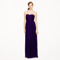 Arabelle long dress in silk chiffon - Weddings & Parties - Women's new arrivals - J.Crew
