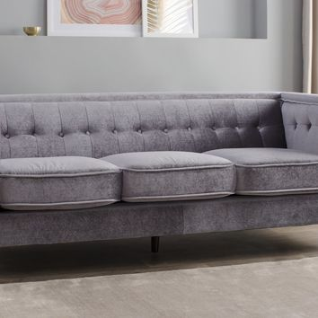 Roberta Velvet Chesterfield Sofa