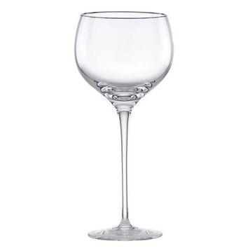 Lenox Solitaire Platinum Signature Crystal Wine Glass