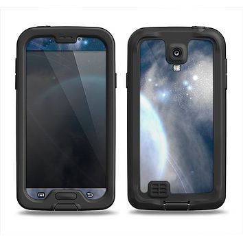 The Vivid Lighted Halo Planet Samsung Galaxy S4 LifeProof Fre Case Skin Set