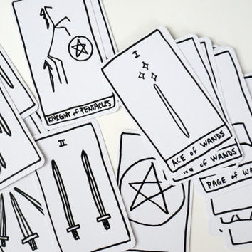 Contemporary Minimal style Tarot Deck
