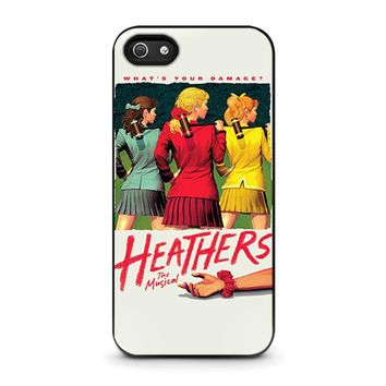 HEATHERS BROADWAY MUSICAL iPhone 5 / 5S / SE Case Cover