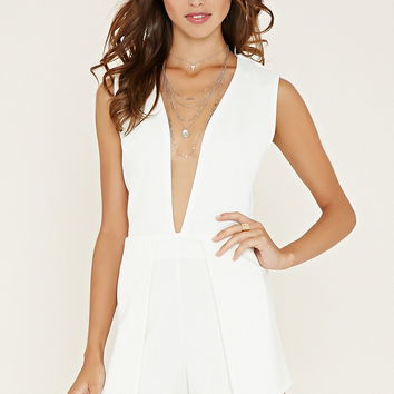 Texture Layered Romper