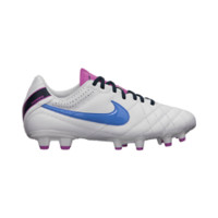 Nike Tiempo Natural IV Leather Women's Firm-Ground Soccer Cleats - White