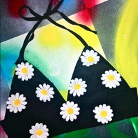 SWEET LORD O'MIGHTY! LIL DAISY HALTER IN BLACK
