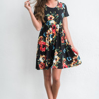 Always Be Bold Dress, Black