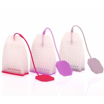 Unique Cute Tea Strainer Interesting Life Partner Cute Teapot Silicone Tea Infuser Filter Teapot for Tea & Coffee Drinkware Home