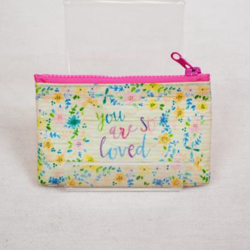 loved gift card pouch
