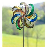 Jingle Scroll Wind Spinner With Bells