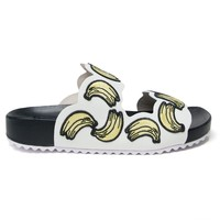 Sophia Webster embroidered banana sandals