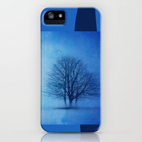 Blue winter iPhone Case by Viviana González | Society6