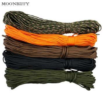 31m Paracord 550 Safe Parachute Cord Lanyard Rope Mil Spec Type III 7Strand 100FT Climbing Camping Survival Equipment