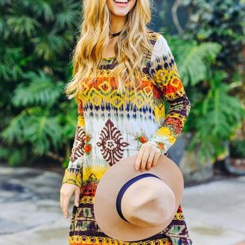 Lover Of Mine Tunic Dress (All Sizes) – Gypsy Outfitters - Boho Luxe Boutique