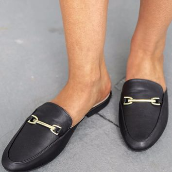 Luxurious Days Black Loafers
