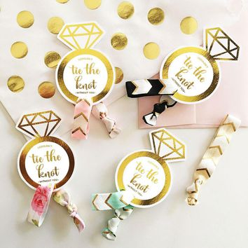 Tie the Knot Hair Ties (Set of 6)