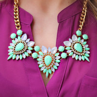 Mint Melody Necklace