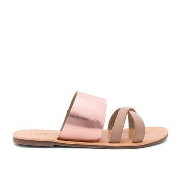 Urge Kamila Sandal in Rose Gold/Nude | REVOLVE