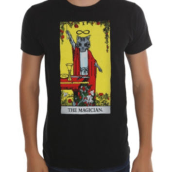 The Magician Cat Tarot T-Shirt