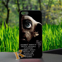 Harry Potter and The Deathly Hallows Dobby Design For iPhone Case, iPhone 4/4s,5/5s,5c, Samsung Galaxy S3 i9300,Galaxy S4 i9500 Case