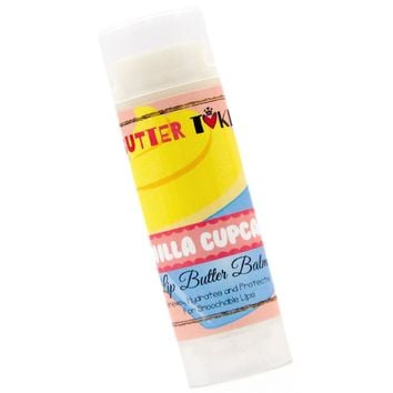 Vanilla Cupcake Lip Balm with SPF 15 - .15oz