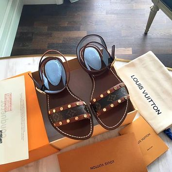 Louis Vuitton LV Spring and Summer Sandals