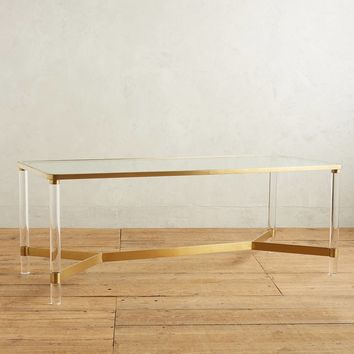 Oscarine Lucite Dining Table