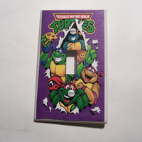 Teenage Mutant Ninja Turtles Light Switch Cover by myevilfriend